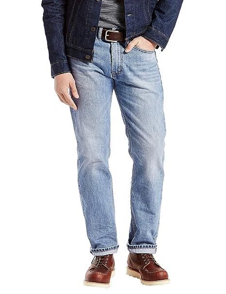 Levis Mens 505 Regular Fit Jean, Kalsomine, 33x30