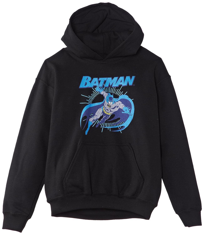 Sweat-Shirt /à Capuche Gar/çon DC Comic Official Batman Leap