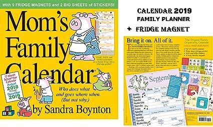 Sandra Boynton - Calendario de planificación familiar para mamá ...