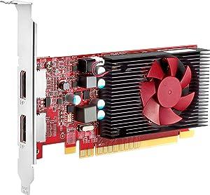 HP Graphics Card - Radeon R7 430-2 GB GDDR5 - PCIe 3.0 x16 Low Profile - DisplayPort, VGA - for EliteDesk 705 G4, 800 G4; ProDesk 400 G5, 400 G6, 600 G4, 600 G5; Workstation Z1 G5 Entry