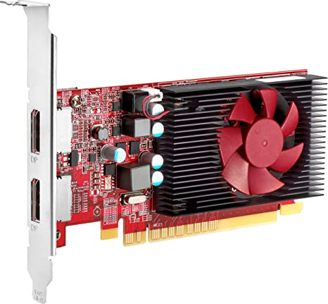 HP AMD Radeon R7 430 2GB DisplayPort VGA Card - Tarjeta ...