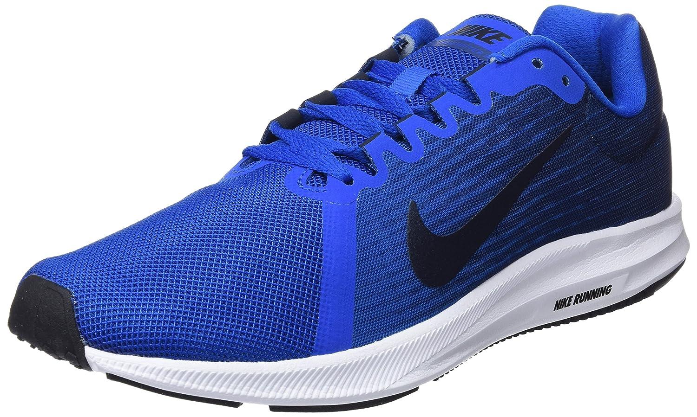 Nike Downshifter 8, Zapatillas de Running para Hombre 40.5 EU|Azul (Blue Nebula/Dark Obsidian-navy-white 401)