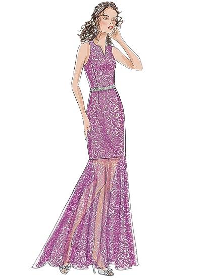 55f6fa89928c Amazon.com  McCall s Patterns M7540A50 Misses  Princess Seam Top ...