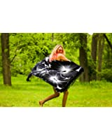 1 World Sarongs Womens Big Hibiscus Floral Swimsuit Sarong