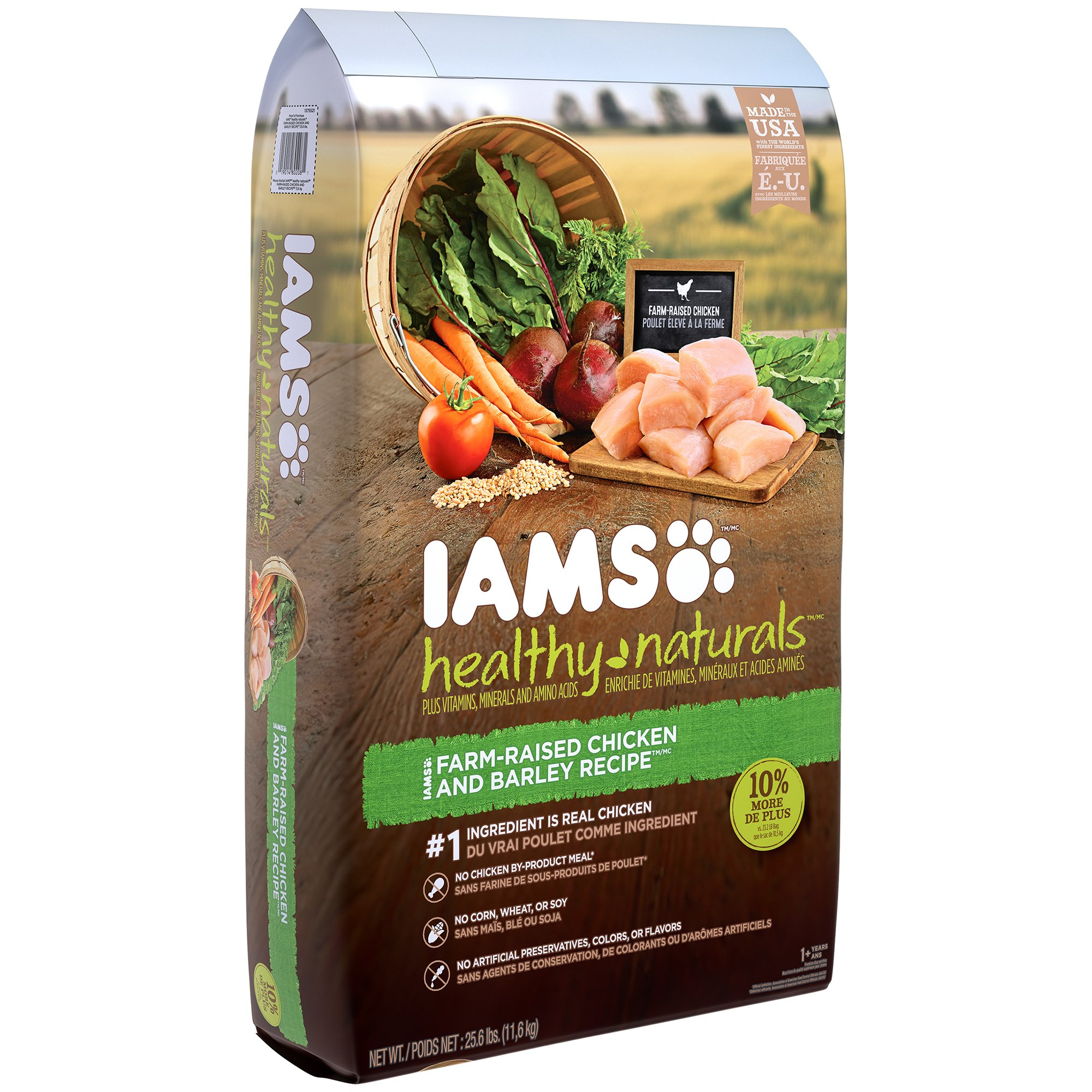 Iams healthy naturals adult chicken and barley recipe dry dog food iams healthy naturals adult chicken and barley recipe dry dog food 256 pounds forumfinder Images