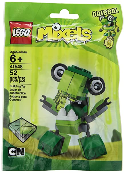Amazon.com: LEGO Mixels Mixel Dribbal 41548 Building Kit: Toys & Games