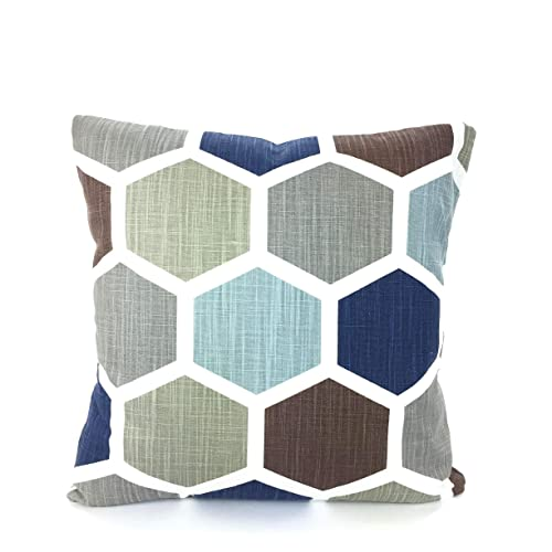 Surprising Amazon Com Hexagon Pillow Covers Decorative Cushion Covers Andrewgaddart Wooden Chair Designs For Living Room Andrewgaddartcom