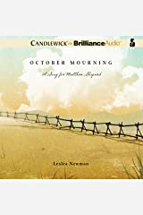 October Mourning: A Song for Matthew Shepard Audible Audiobook