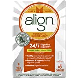 Align Daily Probiotic Supplement, Probiotics Supplement, 63 Capsules