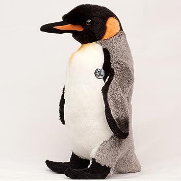 Höhe ca. 30cm Stofftier Kaiserpinguin Pinguin Kuscheltier Plüschtier