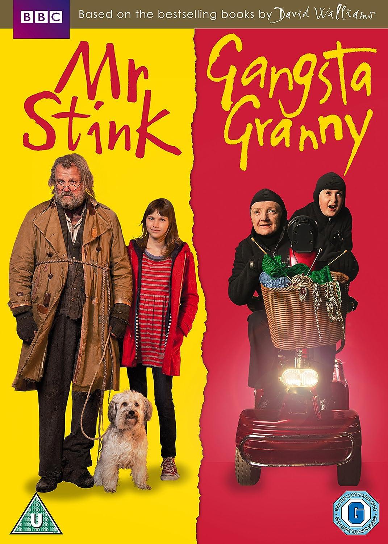 Mr Stink / Gangsta Granny Double Pack [DVD]: Amazon.co.uk: Joanna Lumley,  Rob Brydon, Miranda Hart, Julia McKenzie, Robbie Williams, David Walliams,  ...