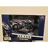 Maisto 31590–Moto GP Yamaha Valentino Rossi 2016