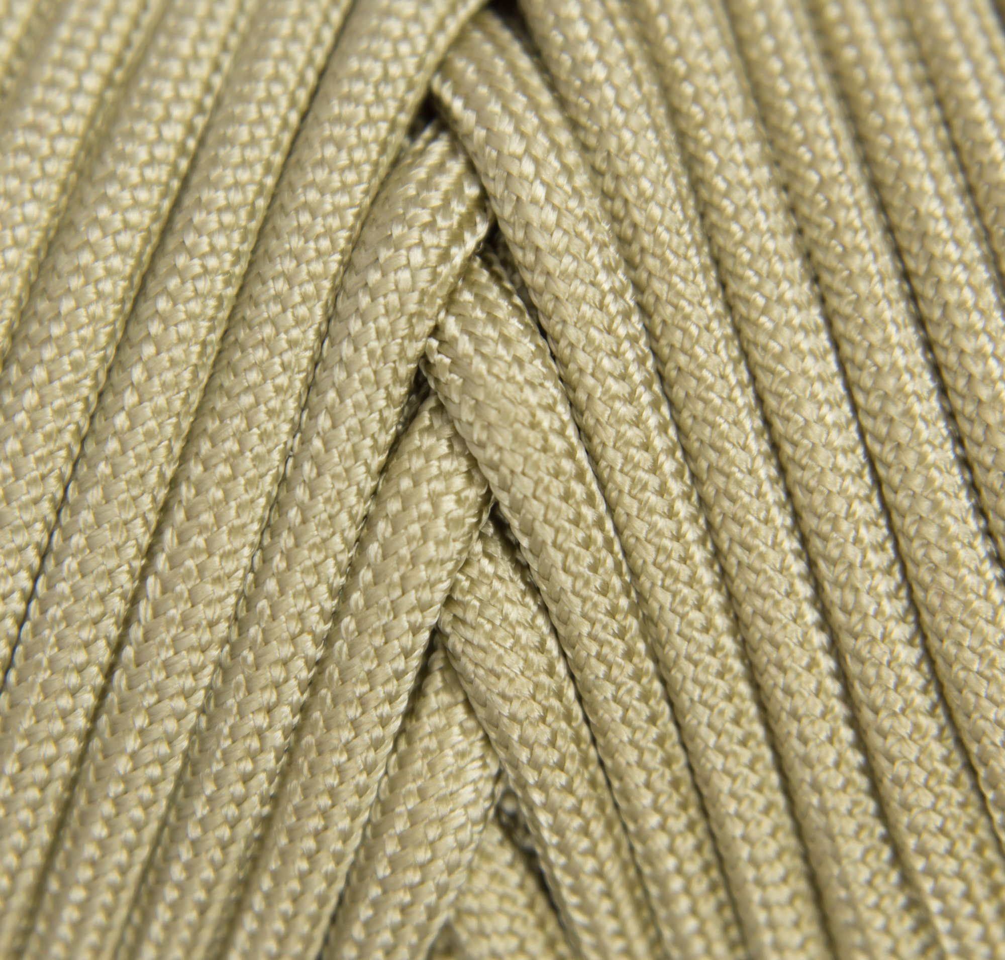 TOUGH-GRID 750lb Buckskin (Desert Sand) Paracord/Parachute Cord - Genuine Mil Spec Type IV 750lb Paracord Used by The US Military (MIl-C-5040-H) - 100% Nylon - Made in The USA. 50Ft. - Buckskin by TOUGH-GRID (Image #3)