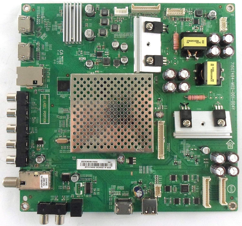 Compatible with Vizio 756TXGCB02K0170 Main Board for D50-D1 LTCWTQES