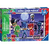 Ravensburger PJ Masks, XXL 60pc Glow in the Dark Jigsaw Puzzle