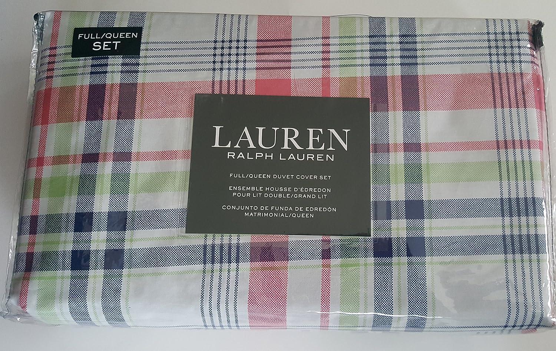 Amazon.com: Ralph Lauren Bedding Full Queen Duvet Cover Set ...