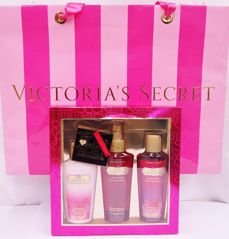 Amazon.com : Victoria's Secret Pure Seduction Gift Set 3 Piece 4.2 ...