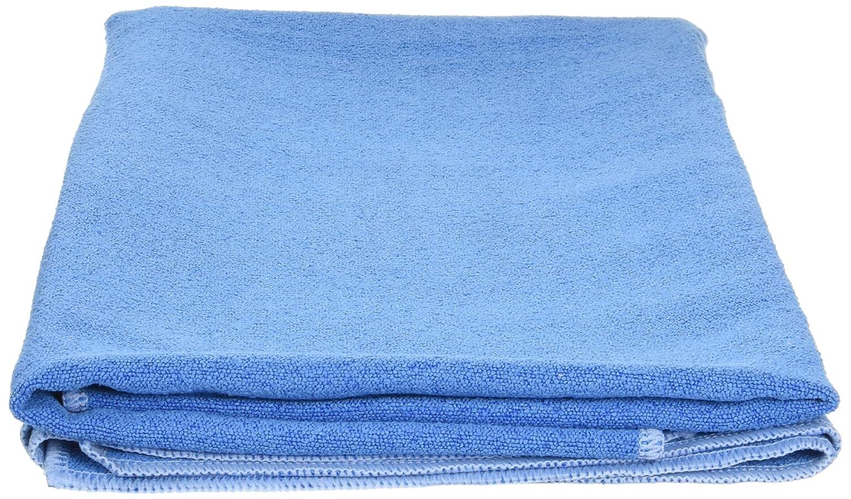 Angelbeauty Hot Yoga Handtuch mit Tragetasche – Mikrofaser rutschfeste Skidless Yoga Matte Handtücher für Yoga, Bewegung, Fitness, Pilates, blau