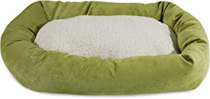 Majestic Pet Apple Villa Collection Sherpa Bagel Dog Bed