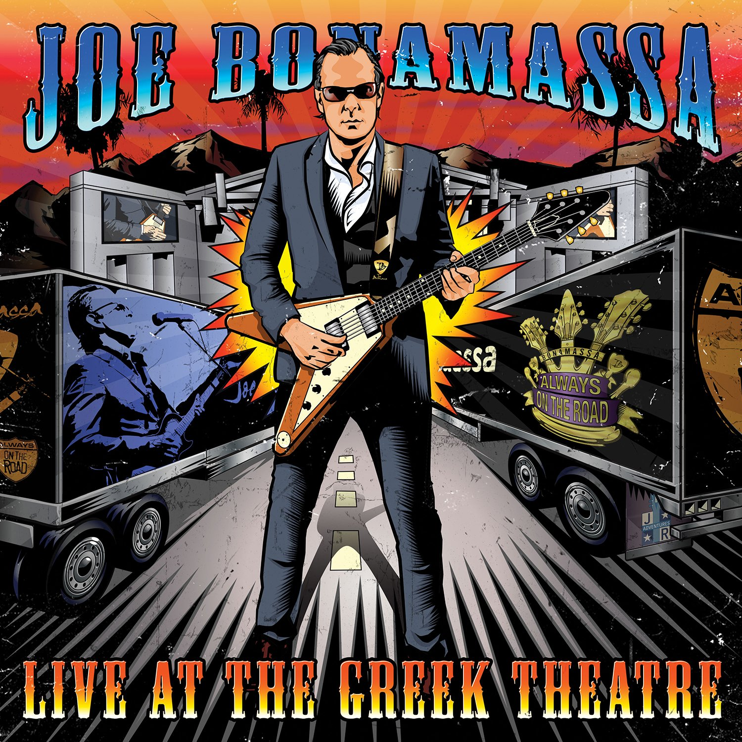 Vinilo : Joe Bonamassa - Live At The Greek Theatre (Gatefold LP Jacket, 4 Disc)