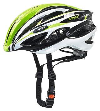 Uvex Race 1 - Cascos Bicicleta Carretera - Verde Contorno de la Cabeza 51-55