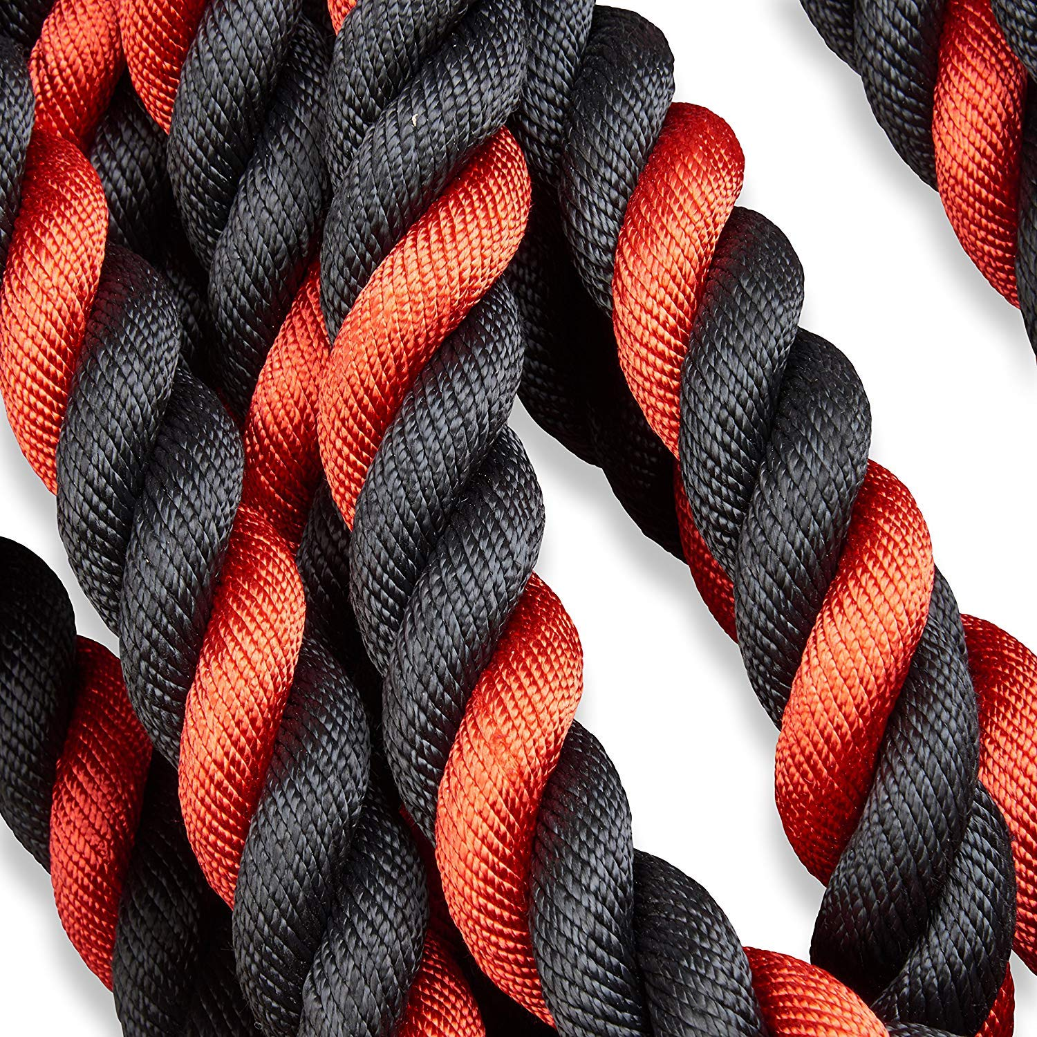 Battle Ropes with Anchor Kit and Nylon Protector Included - Fitness Undulation Rope Exercise - Cross Strength Training - Circuits Workout (1.5'' x 30 ft) by Iron Bull Strength (Image #4)