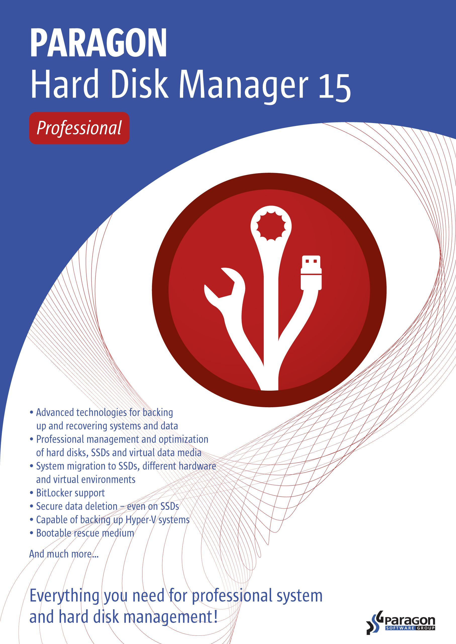 Paragon Hard Disk Manager 15 Professional - WIN 10|8|7 [Download]