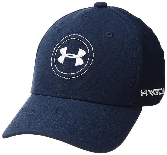 a460b90e Under Armour Boys Golf Official Tour Cap, Academy /White, Youth Small/Medium