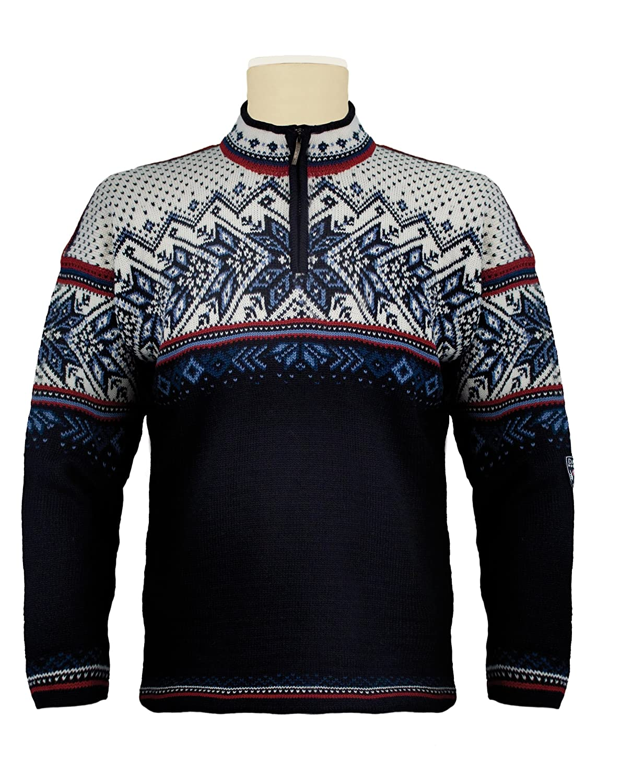 TALLA L. Dale of Norway Pullover Vail - Sudadera para Hombre