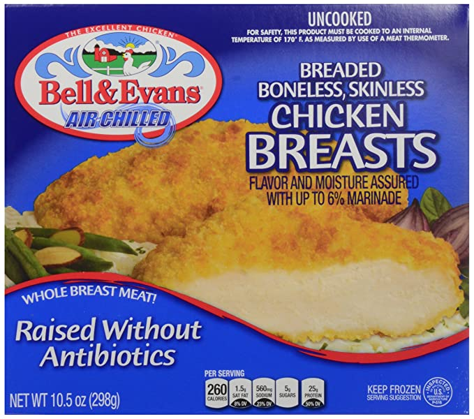 Bell And Evans Whole Chicken (Cut in 8ths 3.5 Pounds