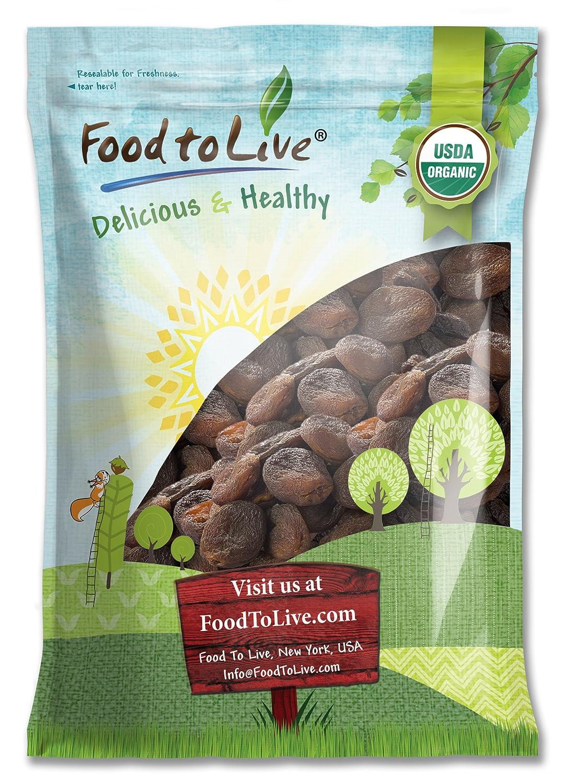 Food to Live Albaricoques secos Bio certificados (Eco, Ecológico, sin OMG, Kosher)3.6 Kg: Amazon.es: Alimentación y bebidas