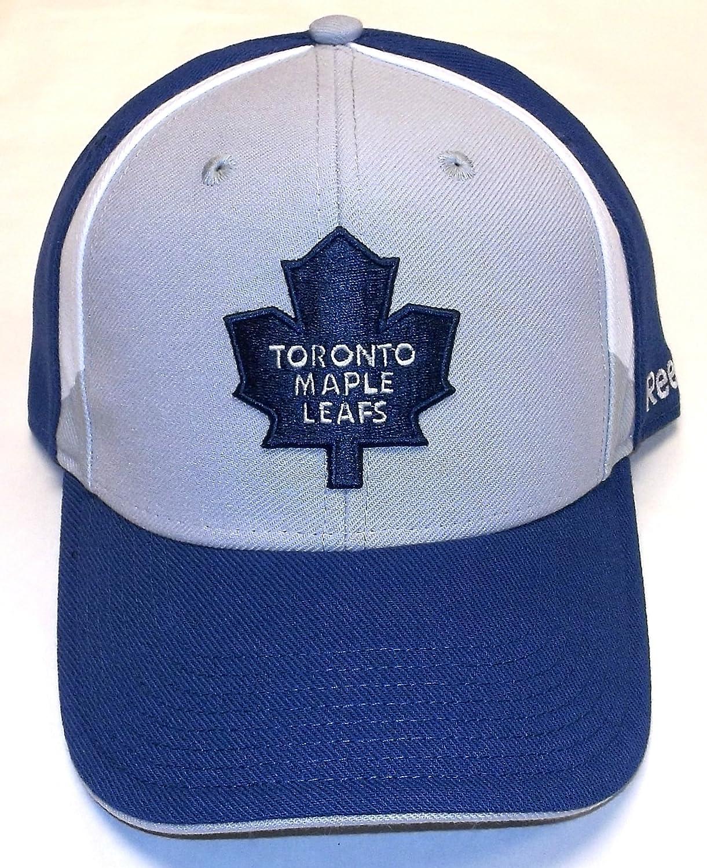 super popular f4052 9a19b Amazon.com : Reebok Toronto Maple Leafs Structured Flex Hat ...