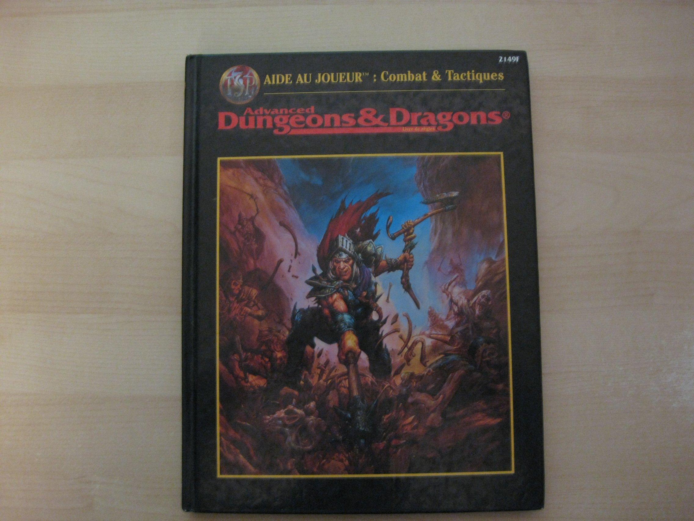 Advanced Dungeons & Dragons - Aide au Joueur: Combat & Tactiques Relié – 1 janvier 1998 L. Richard Baker Jeux Descartes 2740801602 Jeux de simulation