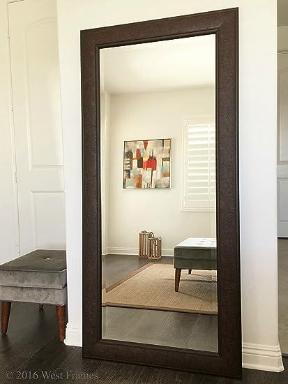 Amazon.com: West Frames Marcello Full Floor Rustic Walnut Brown ...