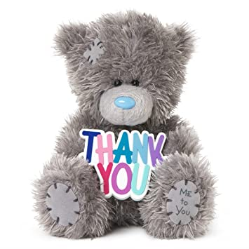 me to you sg01w4078 thank you gift tatty teddy bear amazon co uk