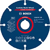 Bosch Professional 1 x tarcza tnąca z węglika spiekanego (do twardego drewna, Ø 125 mm, akcesoria mała szlifierka kątowa…