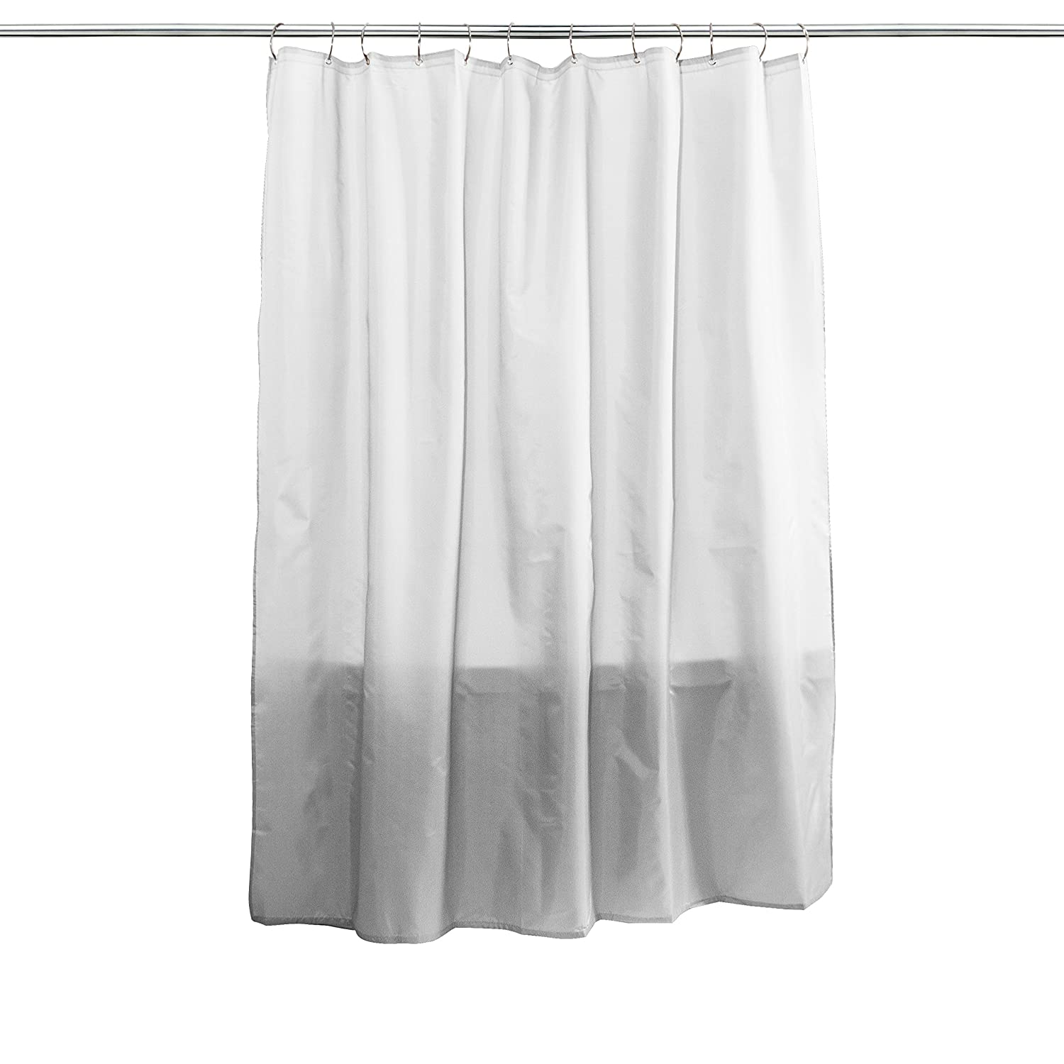 dp white decor home curtains com waffle inch by curtain amazon lush kitchen shower avery