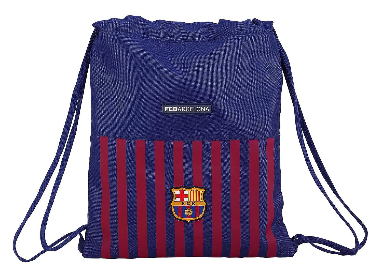 FC Barcelona 611829196 2018 Bolsa de Cuerdas para el Gimnasio, 40 cm, Azul