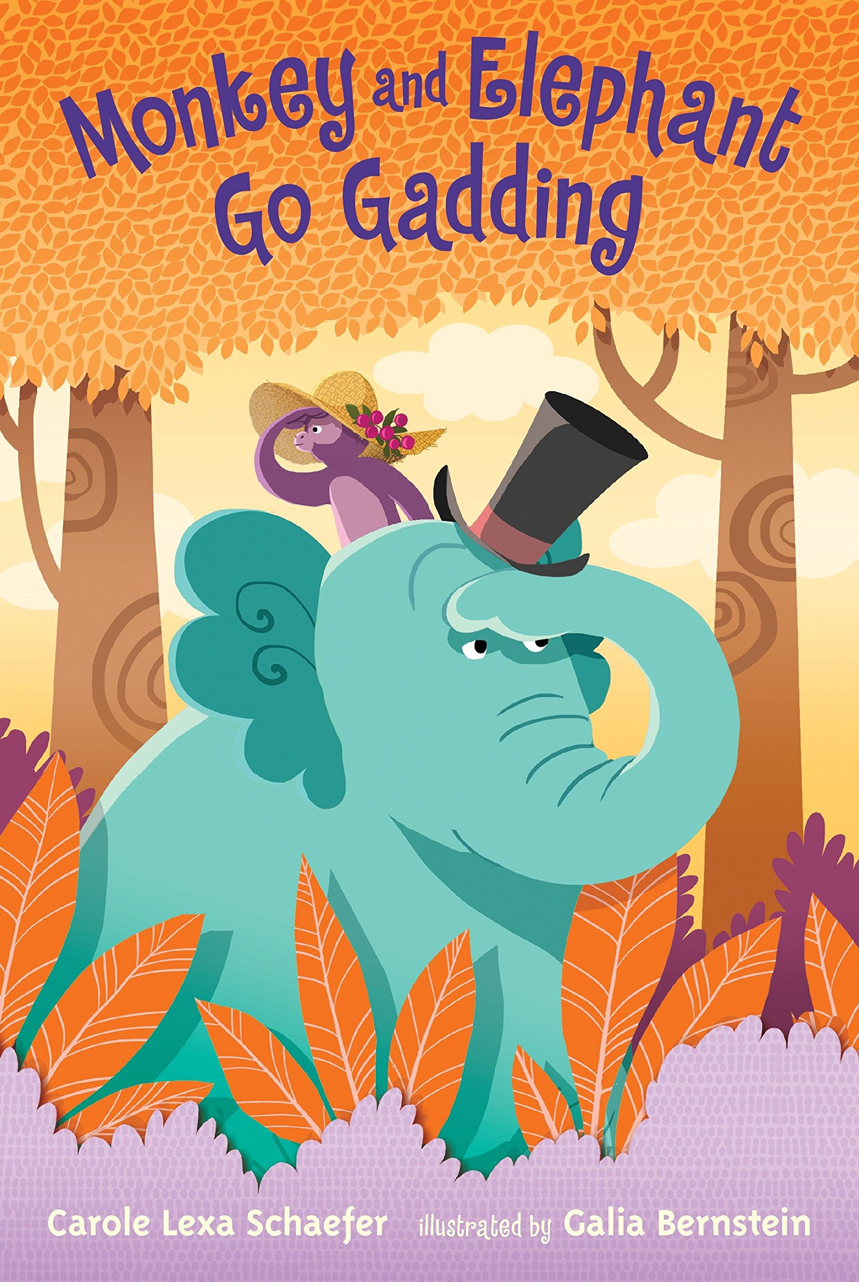 Read Online Monkey and Elephant Go Gadding PDF