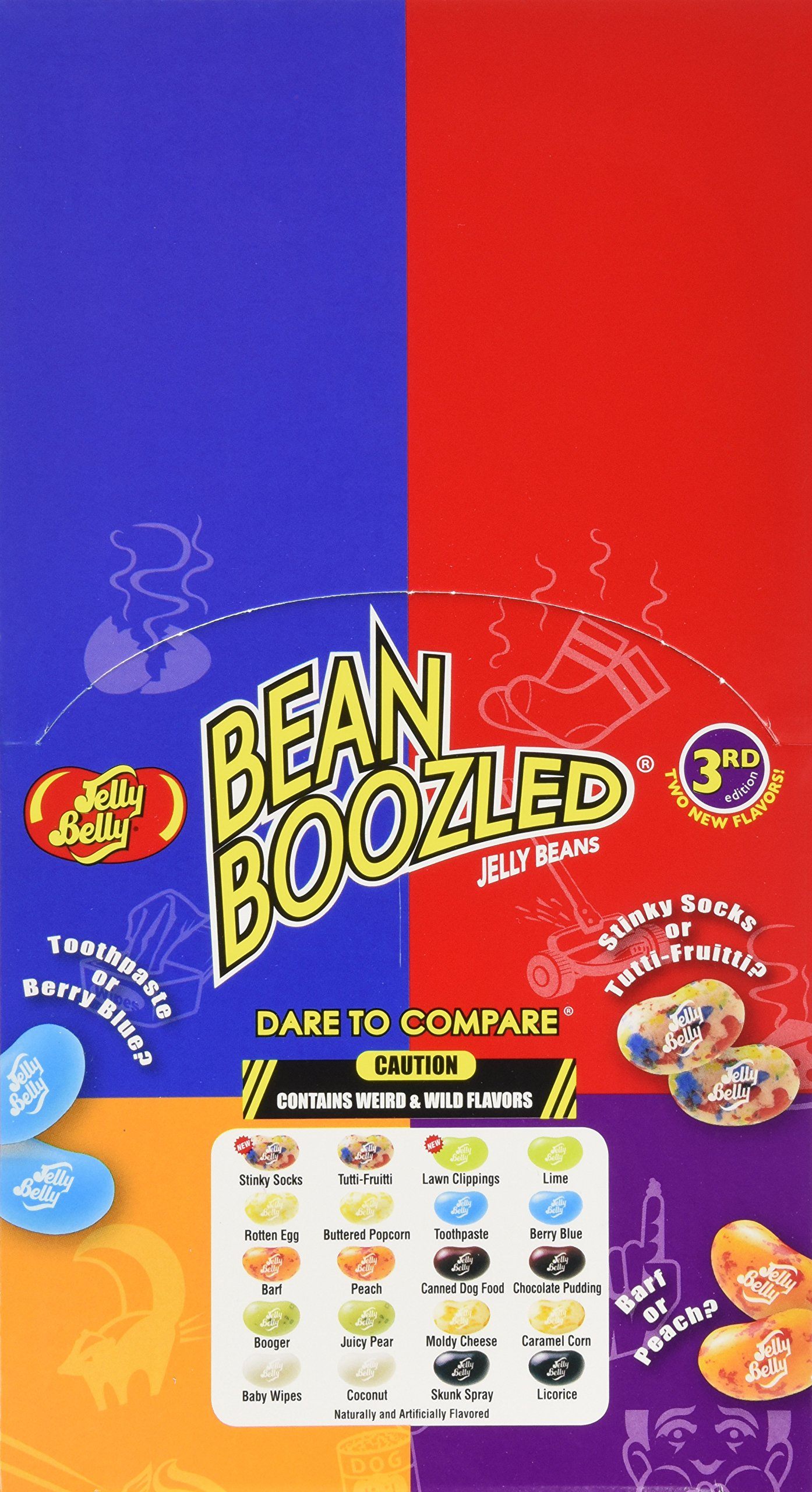 Jelly Belly BeanBoozled (Bean Boozled) 1.6 ounces x 24 boxes by Jelly Belly