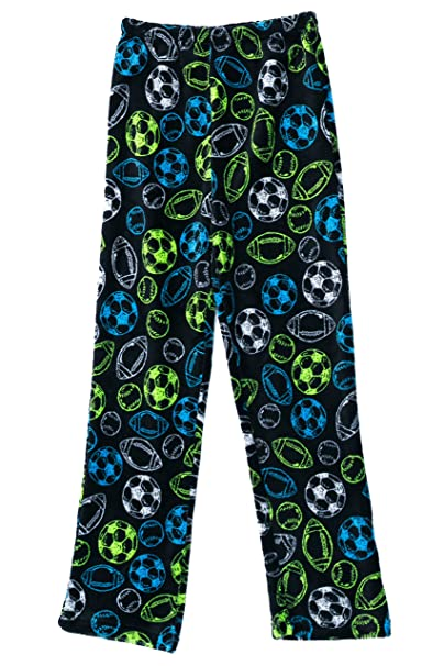 Amazoncom Prince Of Sleep Plush Pajama Pants Fleece Pjs For Boys