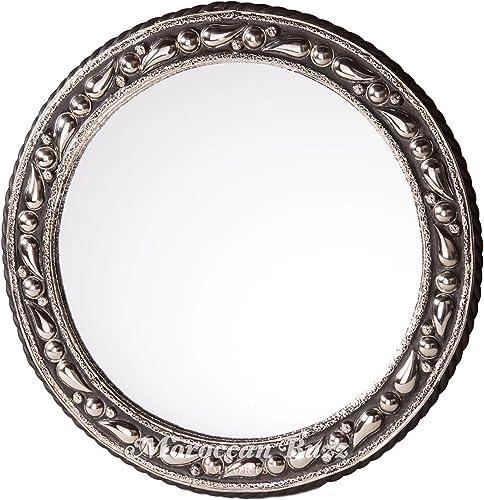 20 Round Moroccan Mediterranean Mirror