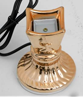 Amazon com: Nabil's Gift Shop Islamic Electric Incense Burner Gold