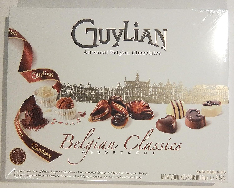 Amazon.com : GuyLian Artisanal Fine Belgian Chocolate Classic ...