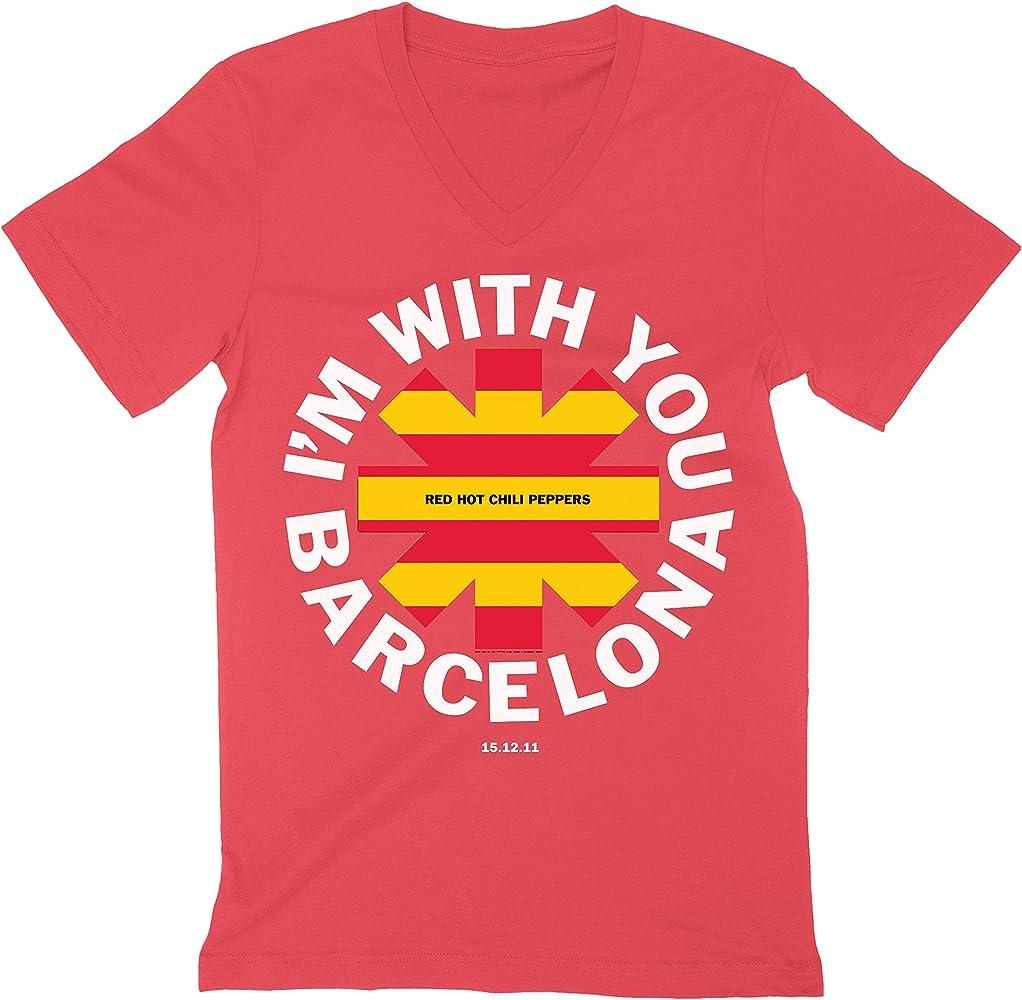Red Hot Chili Peppers Barcelona España Camiseta Camiseta con ...