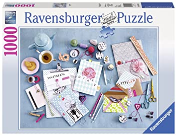 """Ravensburger 19571 8 """"Do It Yourself Puzzle ..."""