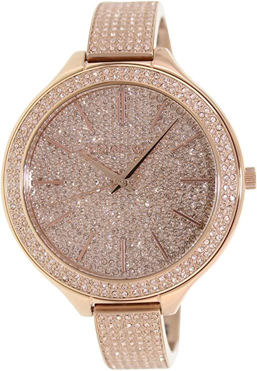 watch ceramic face rhinestones gold white style and with smaller watches sparkly amazon silicone band trim geneva dp com