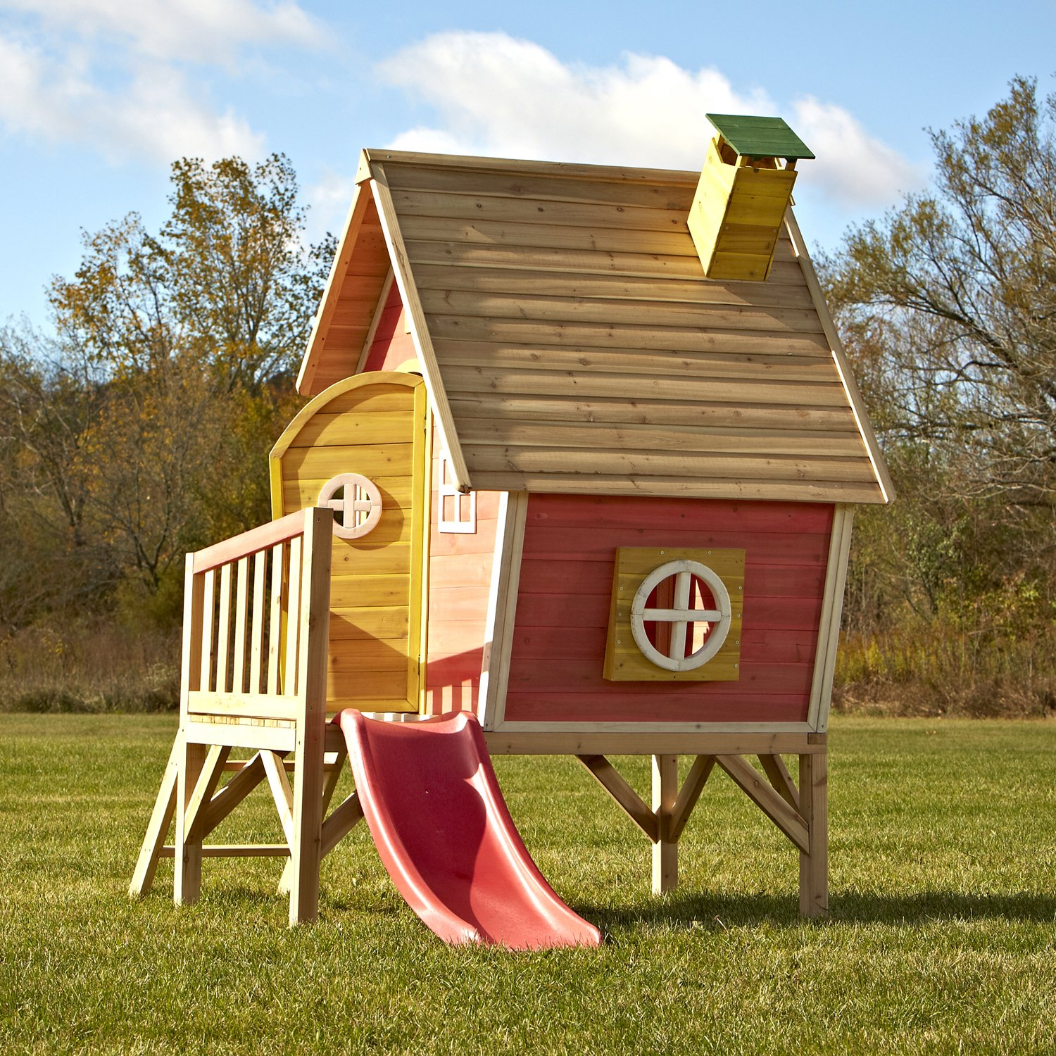 amazon com swing n slide hide and slide play house toys u0026 games