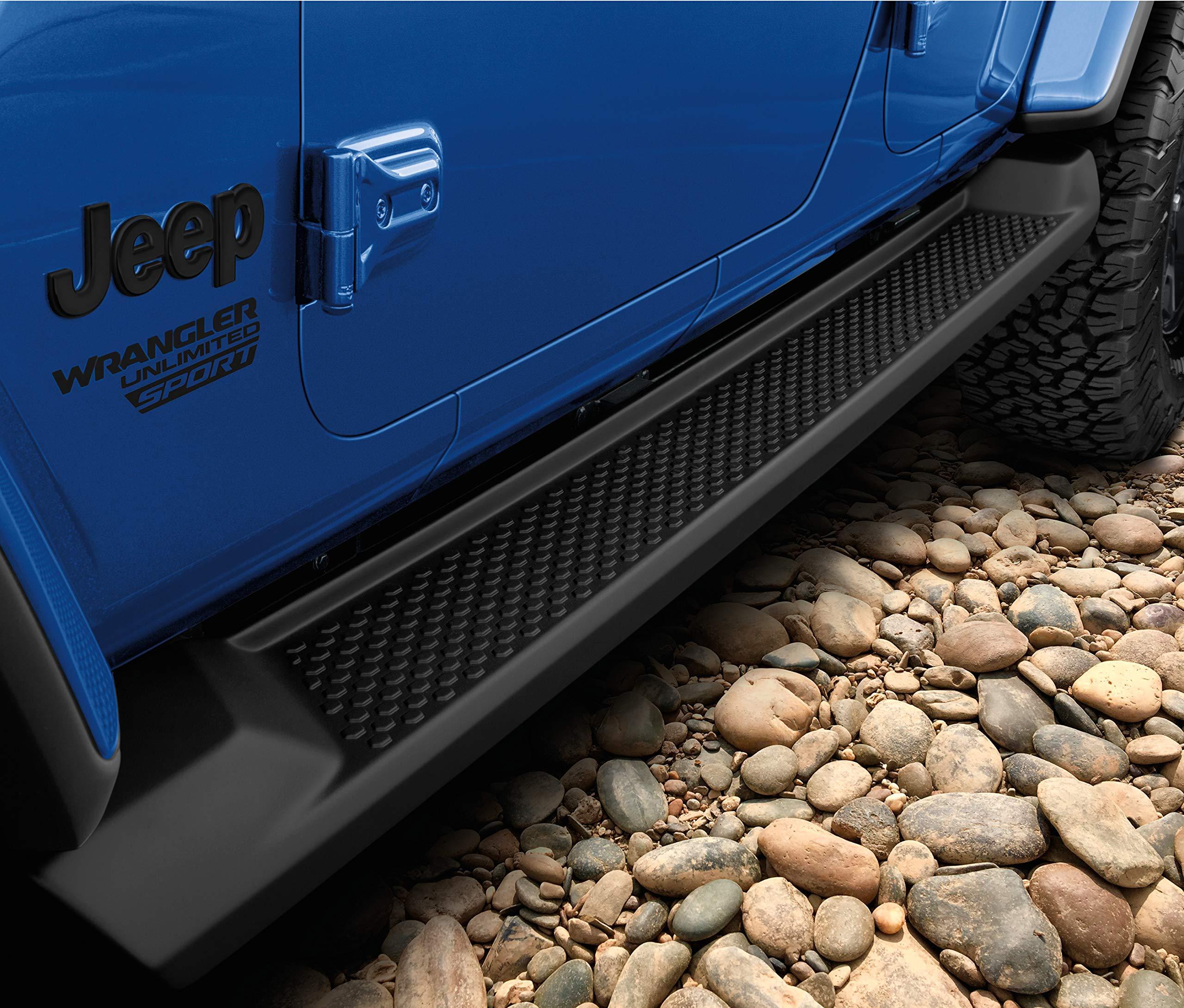 Mopar 82215164 Jeep Wrangler Four Door JL Models Molded Side Steps