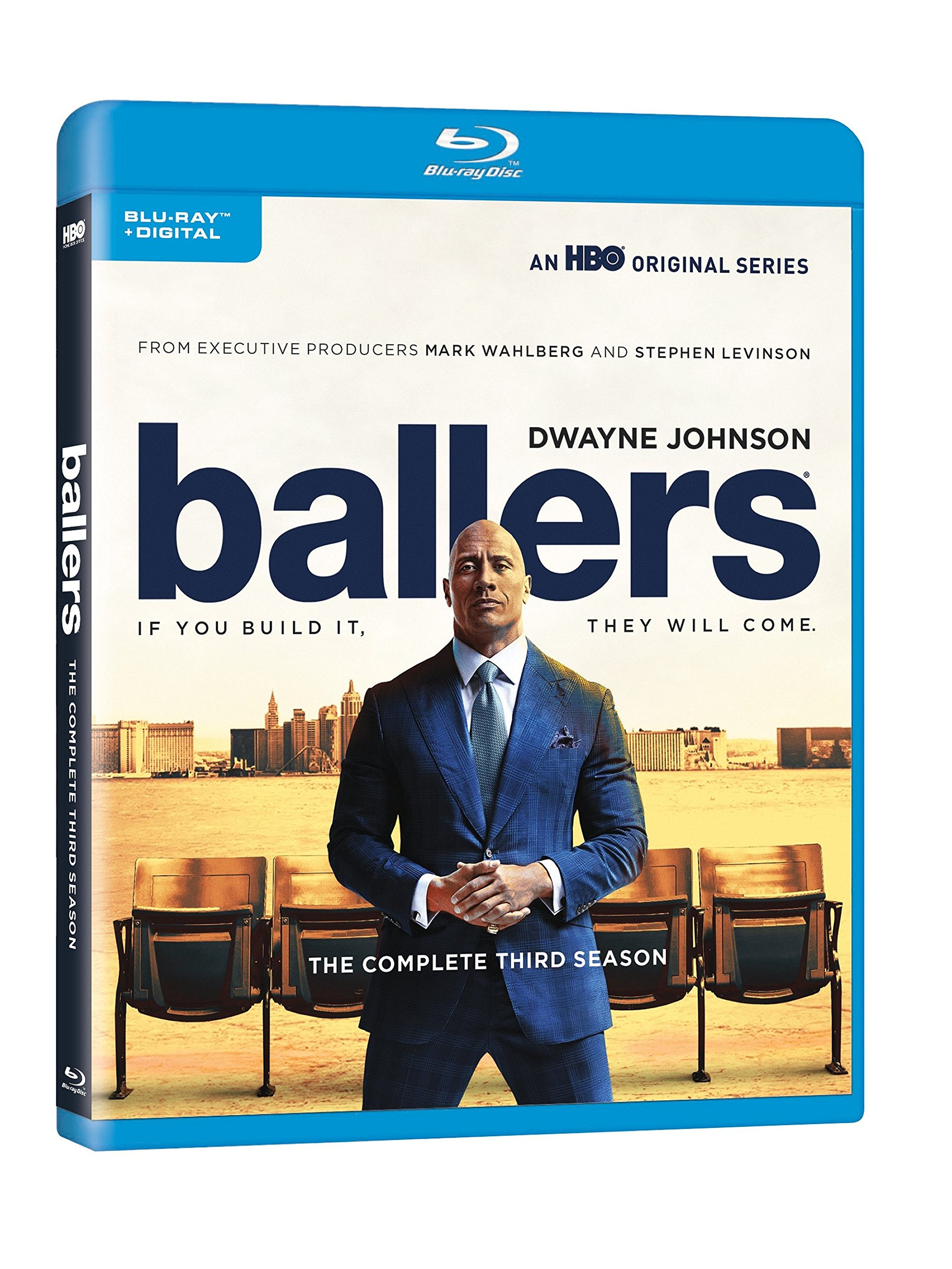 Blu-ray : Ballers: The Complete Third Season (Full Frame, Ultraviolet Digital Copy, Dolby, AC-3, Eco Amaray Case)